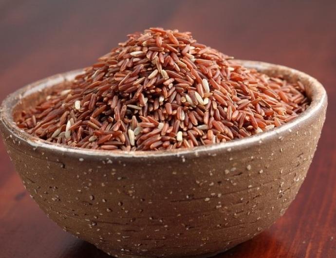 как варить красный рис фото