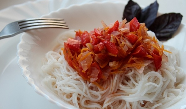 рисовая лапша калорийность фото