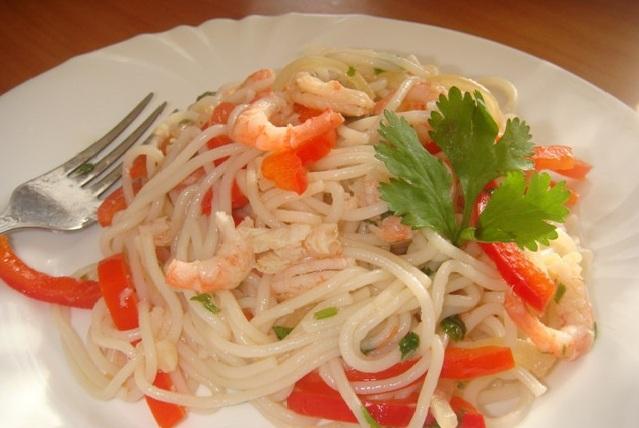 рисовая лапша рецепты фото