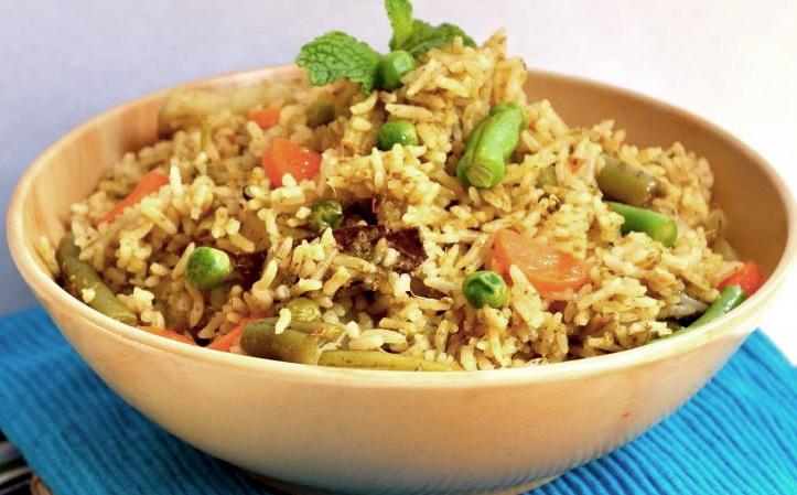 рис в мультиварке с овощами фото