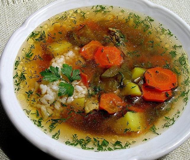 суп рисовый с курицей рецепт с фото пошагово
