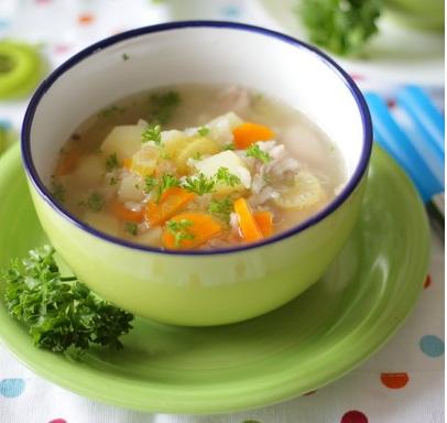как варить рисовый суп с курицей фото