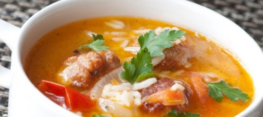 рецепт рисовый суп с курицей в мультиварке