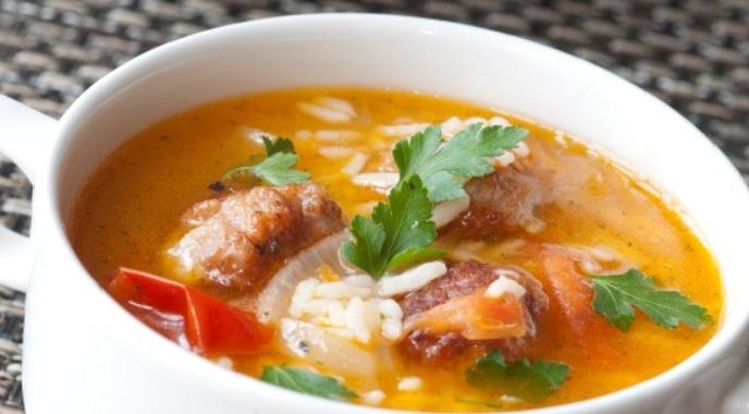 рисовый суп в мультиварке фото1