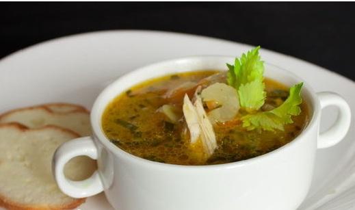 рисовый суп с говядиной фото1