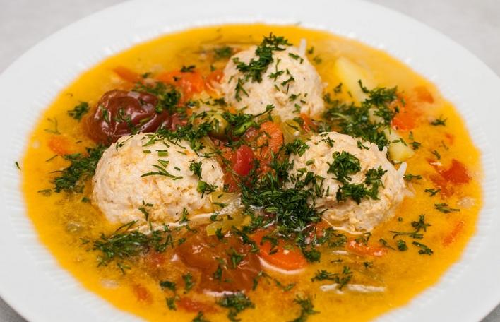 рисовый суп с фрикадельками фото2