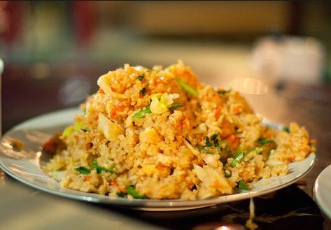 рис с овощами и мясом фото