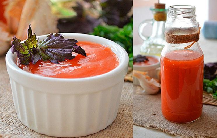 Домашний кетчуп рецепт пошагово на скорую руку