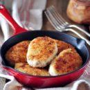 котлеты на сковороде из куриного фарша