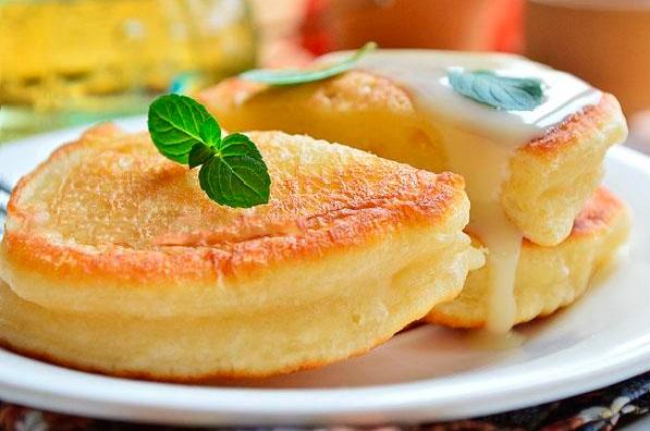 Оладушки на кефире лучший рецепт пошагово