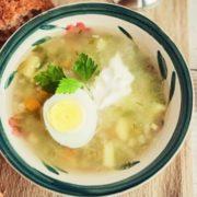 Перловый суп с курицей рецепт пошагово
