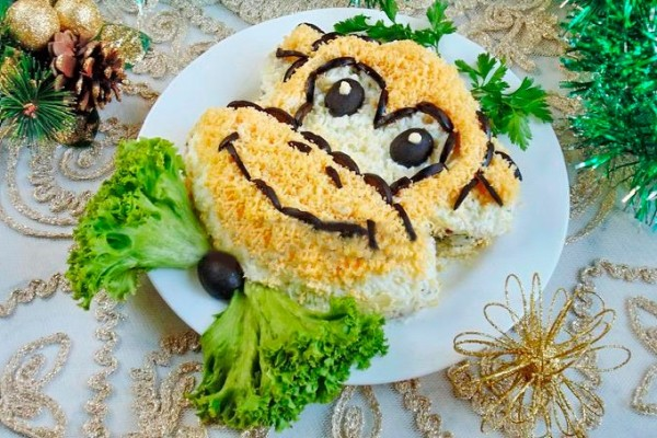 salat-obez'janka