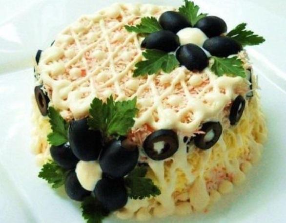 салаты на день рождения легкие и вкусные
