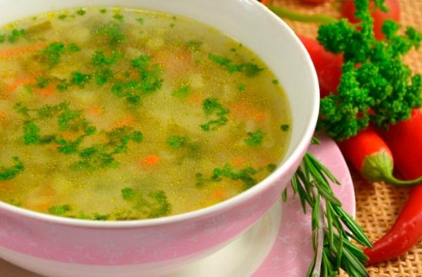 Рассольник классический пошаговый рецепт с рисом