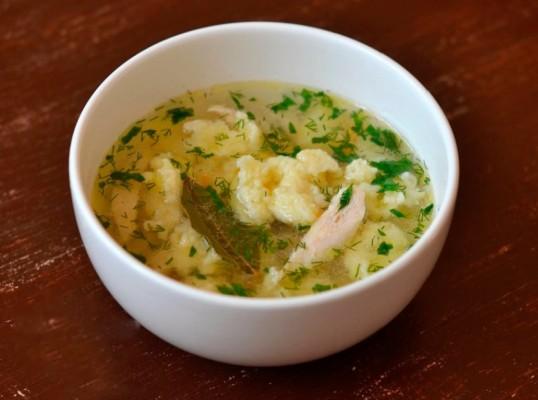 суп с мучными клецками рецепты