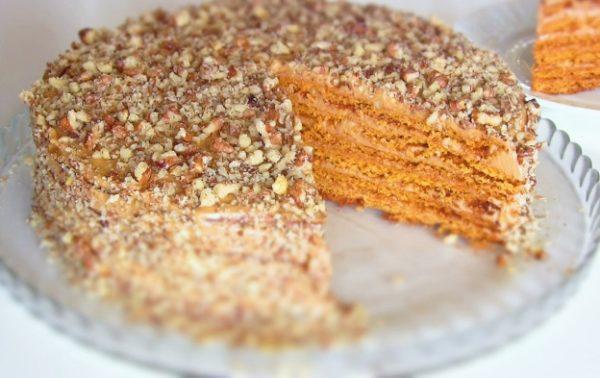 торт медовик классический рецепт с фото