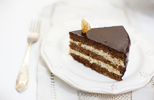 Прага торт со сливками рецепт