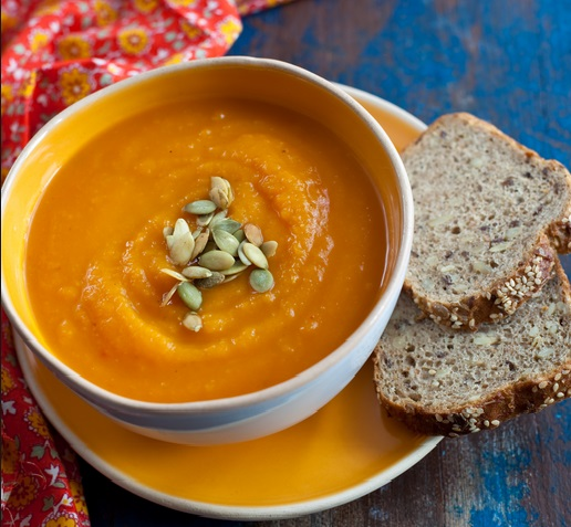как приготовить суп пюре из тыквы от юлии высоцкой